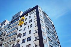 Modern, LuxeFlatgebouw Royalty-vrije Stock Foto's