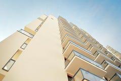 Modern, LuxeFlatgebouw Stock Afbeeldingen