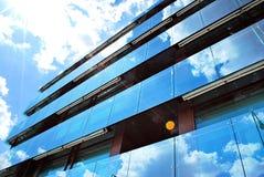Modern, LuxeFlatgebouw Modern flatgebouw Stock Foto