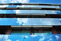 Modern, LuxeFlatgebouw Modern flatgebouw Stock Foto's