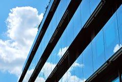 Modern, LuxeFlatgebouw Modern flatgebouw Royalty-vrije Stock Afbeelding