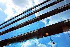 Modern, LuxeFlatgebouw Modern flatgebouw Royalty-vrije Stock Foto's