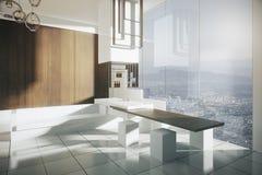 Modern luxurious kitchen Royalty Free Stock Photography