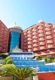 Modern luxurious Turkish hotel Royalty Free Stock Photos