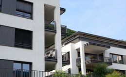 Modern luxury apartments. In Germany Royalty Free Stock Image