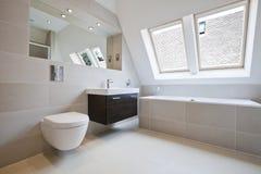 Modern luxury bathroom Stock Photography