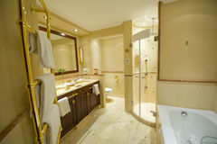 Modern luxury bathroom Royalty Free Stock Photo