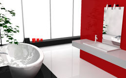 Modern Luxury Bathroom Royalty Free Stock Image