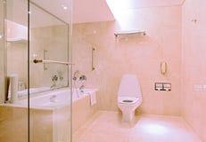 Modern luxury bathroom. Interior of Modern luxury bathroom Stock Photos