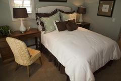 Modern luxury bedroom. Stock Photo