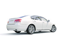 Modern luxury car Royalty Free Stock Images