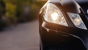 Free Modern Luxury Car Headlights Closeup. Stock Photography - 172271722