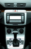 Modern luxury car interior Stock Image