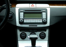 Modern luxury car interior Stock Photography