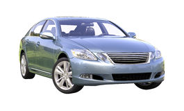 Modern luxury car isolated Royalty Free Stock Image