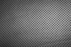 Modern luxury car leather interior. Part of leather car seat details with white stitching. Interior of prestige car. Comfortable p. Erforated leather seats stock photography