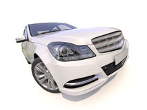 Modern luxury car Royalty Free Stock Image