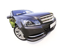 Modern luxury car Royalty Free Stock Photo