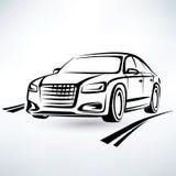 Modern luxury car symbol Stock Images