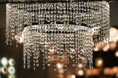 Modern luxury chandelier design Stock Photos