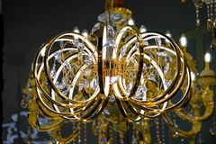 Modern luxury chandelier design Royalty Free Stock Images