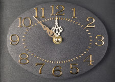 Modern luxury clock Royalty Free Stock Photos
