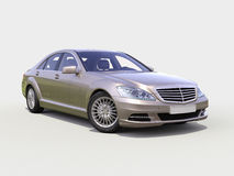 Modern luxury executive car Stock Images
