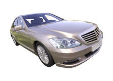 Modern luxury executive car Royalty Free Stock Photo