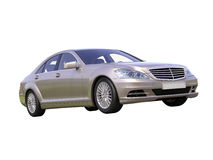Modern luxury executive car Royalty Free Stock Images
