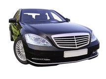 Modern luxury executive car Royalty Free Stock Photos