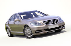 Modern luxury executive car Stock Photo