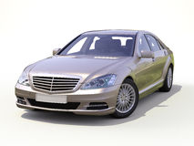 Modern luxury executive car Royalty Free Stock Photography