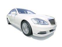 Modern luxury executive car Stock Photos