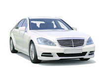 Modern luxury executive car Stock Image