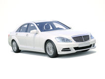 Modern luxury executive car Stock Photos