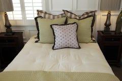 Modern luxury home bedroom. Stock Photo