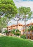 Modern luxury hotels. Stock Image