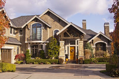 Modern luxury house Royalty Free Stock Photography