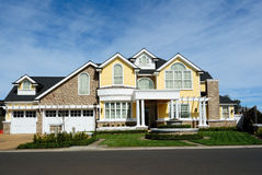 Modern luxury house architecture Royalty Free Stock Photography