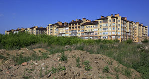 Modern luxury housing. Stargorod in Omsk Royalty Free Stock Photography
