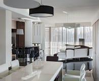 Modern luxury interior in daylight Stock Photo