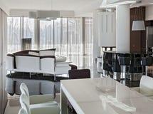 Modern luxury interior in daylight Stock Image