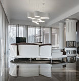 Modern luxury interior in daylight Stock Photo