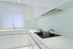 Modern Luxury kitchen Stock Images