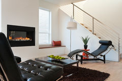 Modern Luxury Living Room stock images