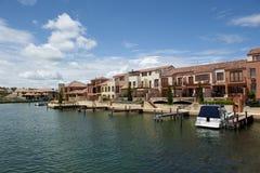 Modern Luxury living at Sea Royalty Free Stock Photo