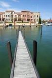 Modern Luxury living at Sea Royalty Free Stock Photos