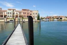 Modern Luxury living at Sea Royalty Free Stock Image