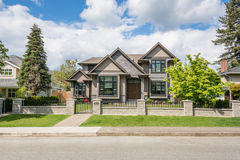 Modern luxury residential house Stock Image
