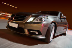 Modern luxury sedan Royalty Free Stock Photography